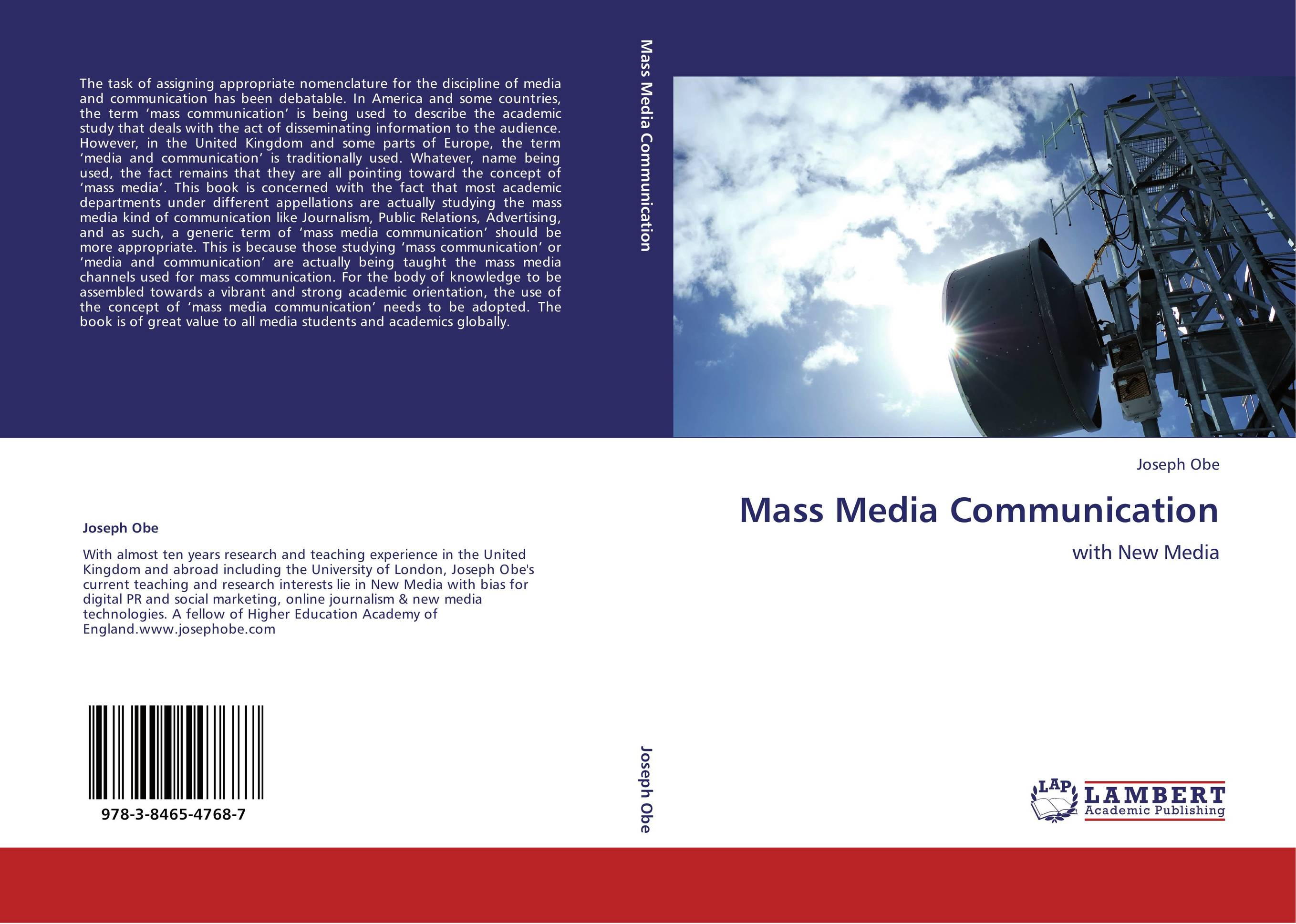 syllabus for mass communication and media Syllabus for an introduction to mass communication course during the course of the class students will: explore the historical development and current structure of the mass media examine the processes of creating, distributing, and exhibiting mass media content for diverse audiences.