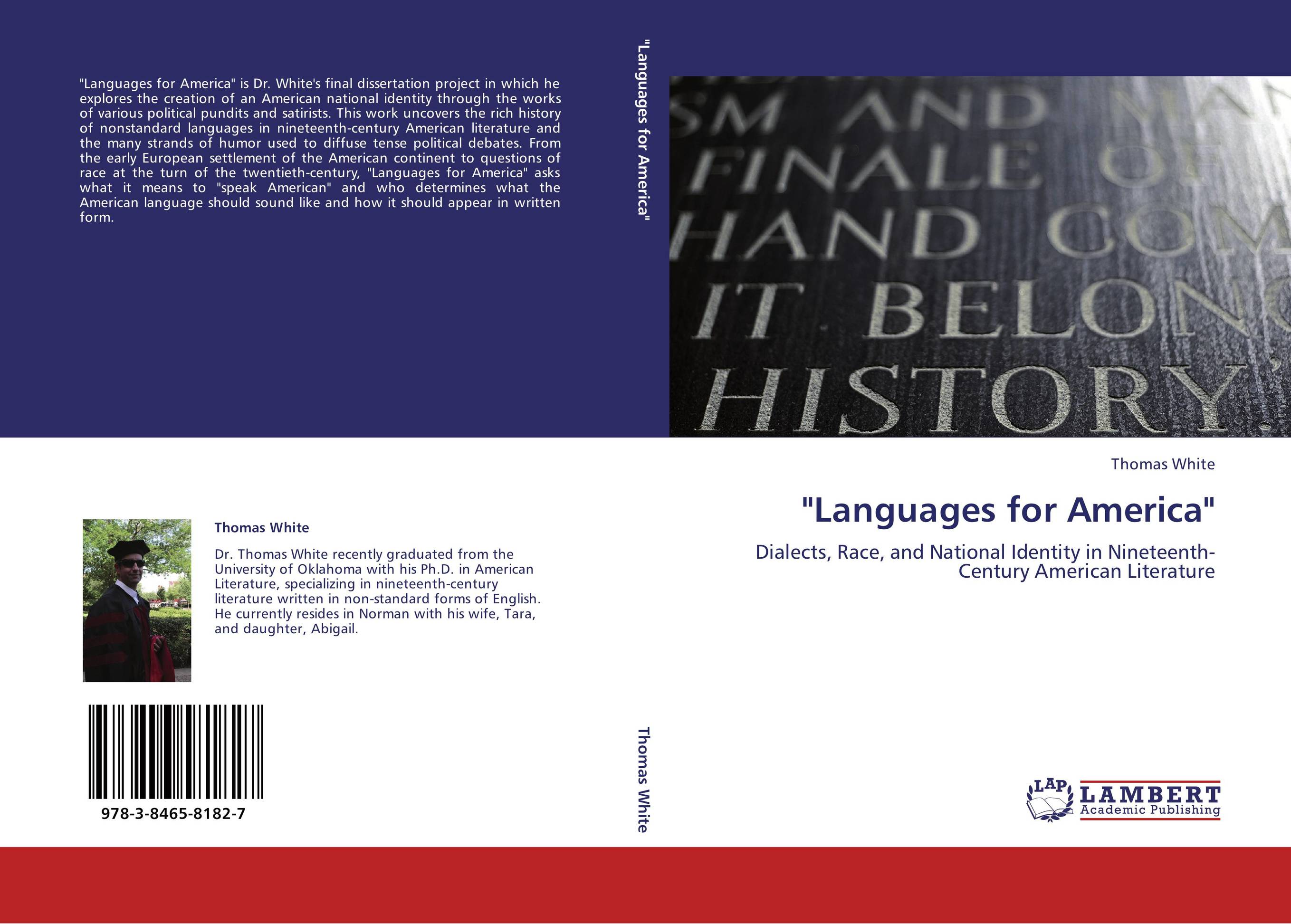 an introduction to the analysis of dialects in american literature An acoustic phonetic analysis of african american english: a comparative study of two dialects by catherine a adams thesis submitted to the department of english language and literature.