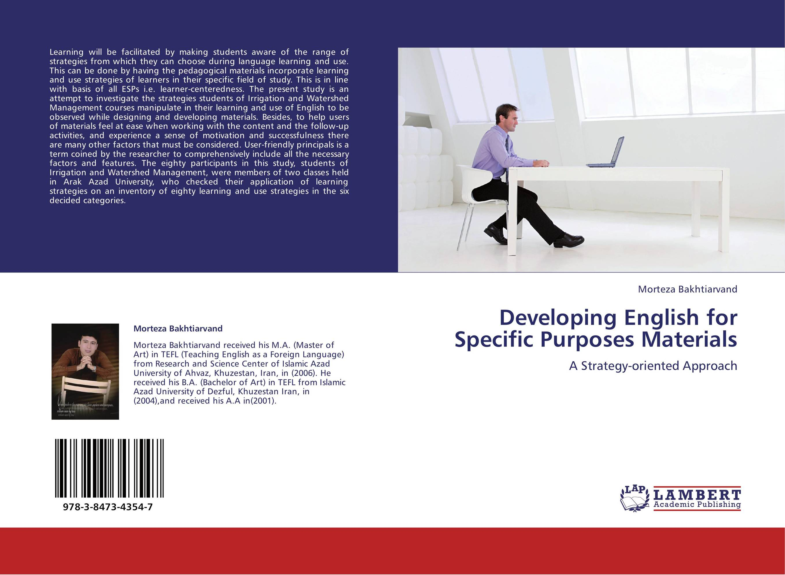 incorporating facebook in the english for specific purposes essay When teaching esp (english for specific purposes) or business english, the teacher simply continues teaching all the english that they already know how to, but incorporate vocabulary,examples, topics and contexts that are relevant to the students.
