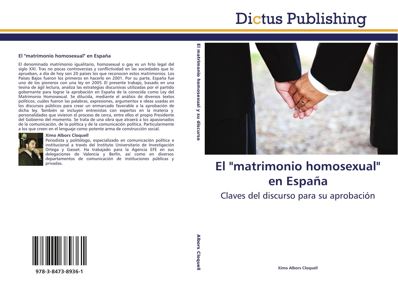 El matrimonio homosexual en espa a librer a agr cola jerez - Casarse rapido en madrid ...