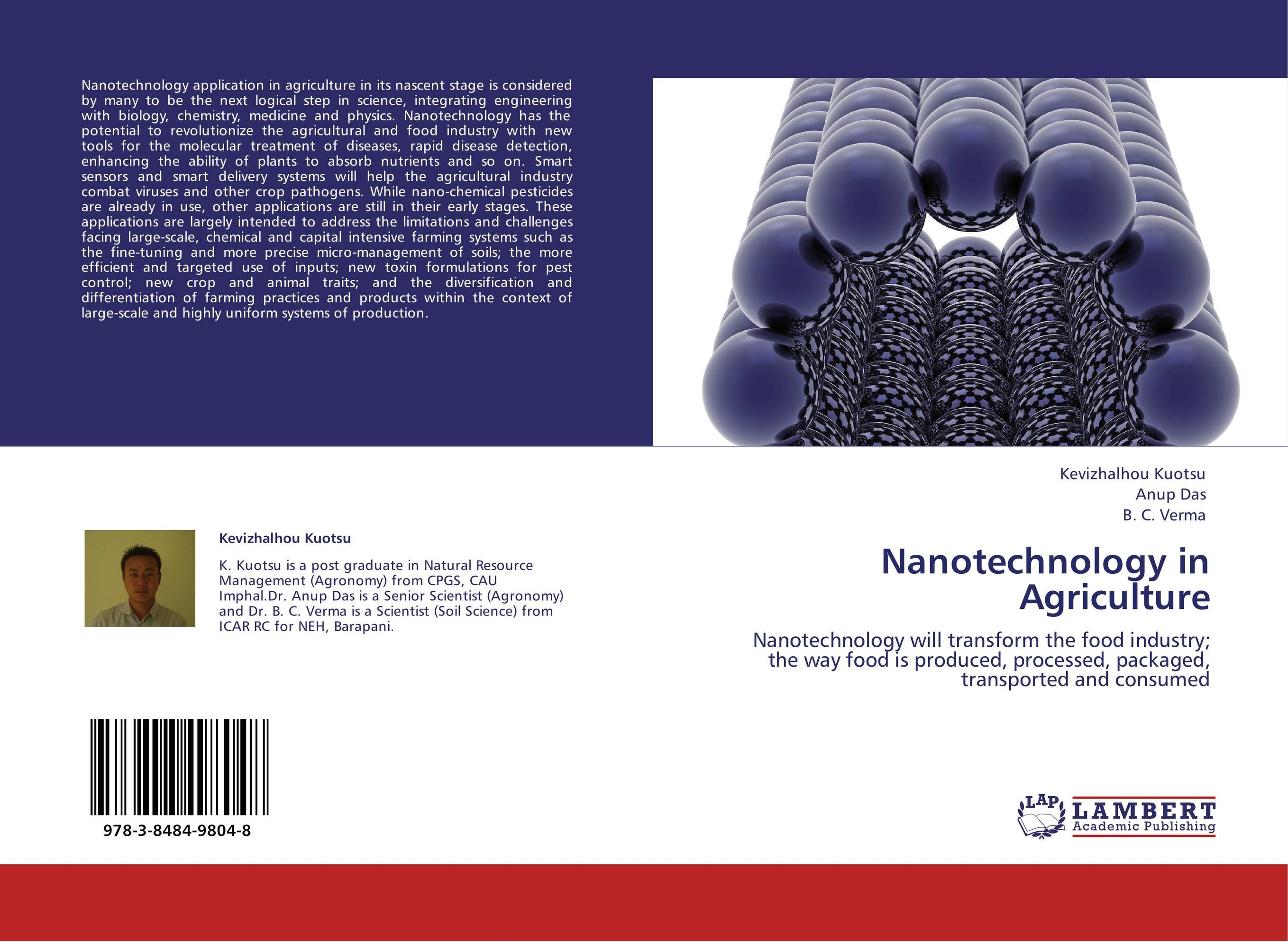 nanotechnology applications Nanotechnology also has applications in the food sector many vitamins and their precursors, such as carotinoids, are insoluble in water however, when skillfully produced and formulated as nanoparticles.