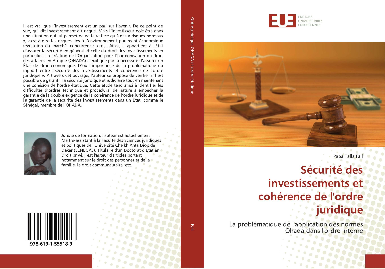 9786131555183-Securite-des-investissements-et-coherence-de-l-039-ordre-juridique-P