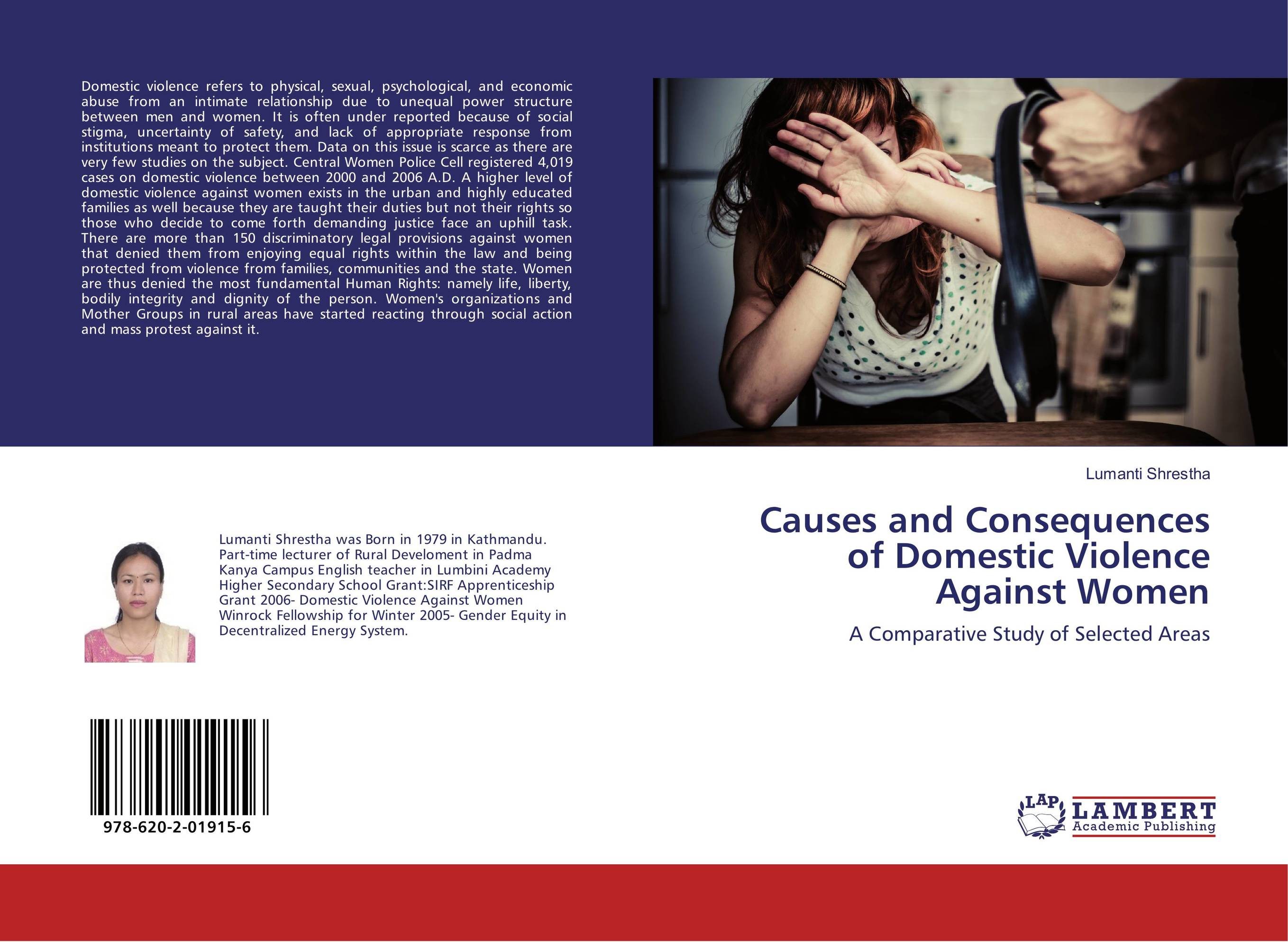 domestic violence against women must be perceived as a socio economic problem Socio-economic backgrounds and have different professionals to offi cially declare domestic violence a health problem and that violence against women is.