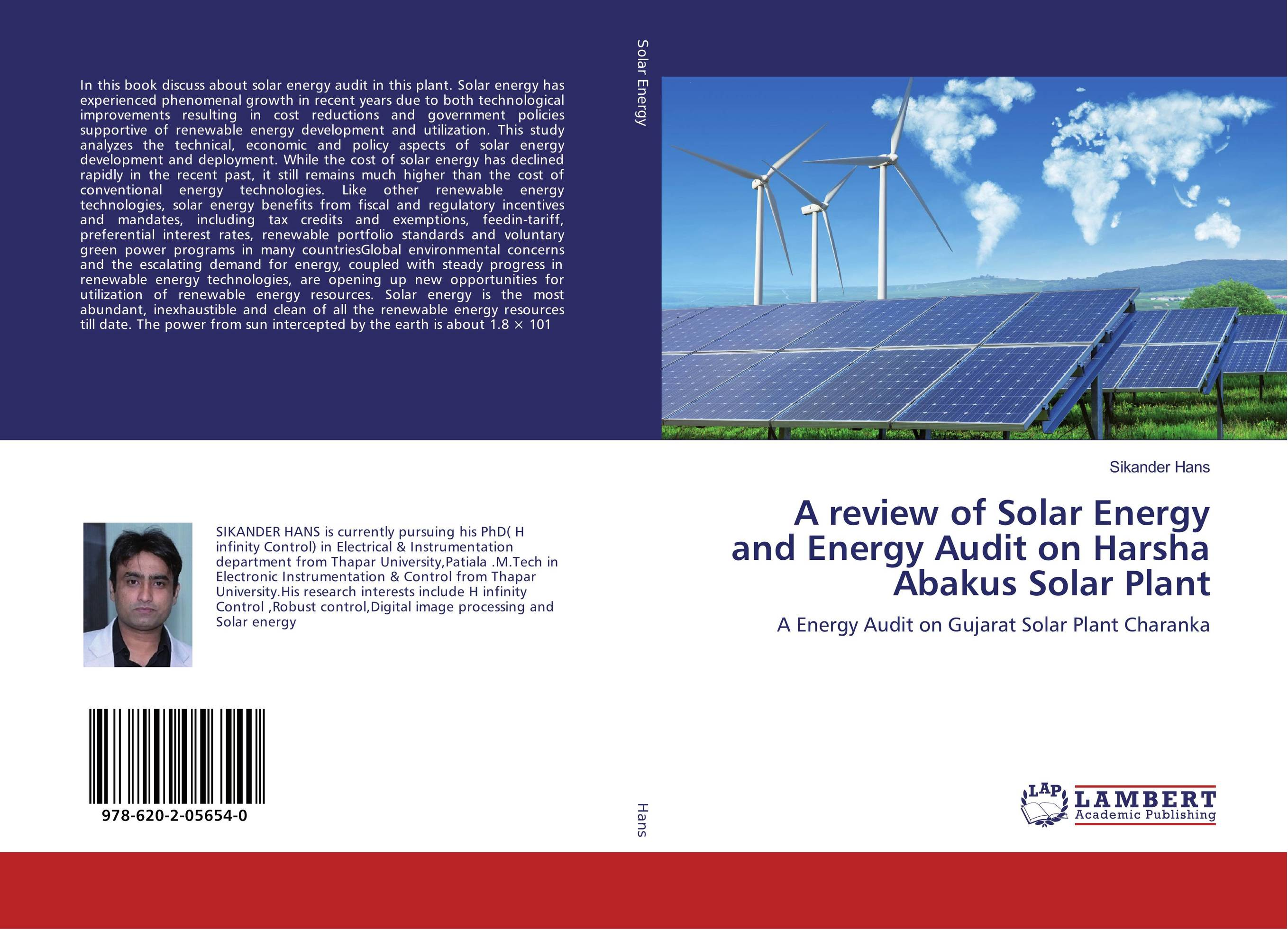 an analysis of the suitability of a solar energy plant Order code rl34746 power plants: characteristics and costs november 13, 2008 stan kaplan specialist in energy and environmental policy resources, science, and industry division.