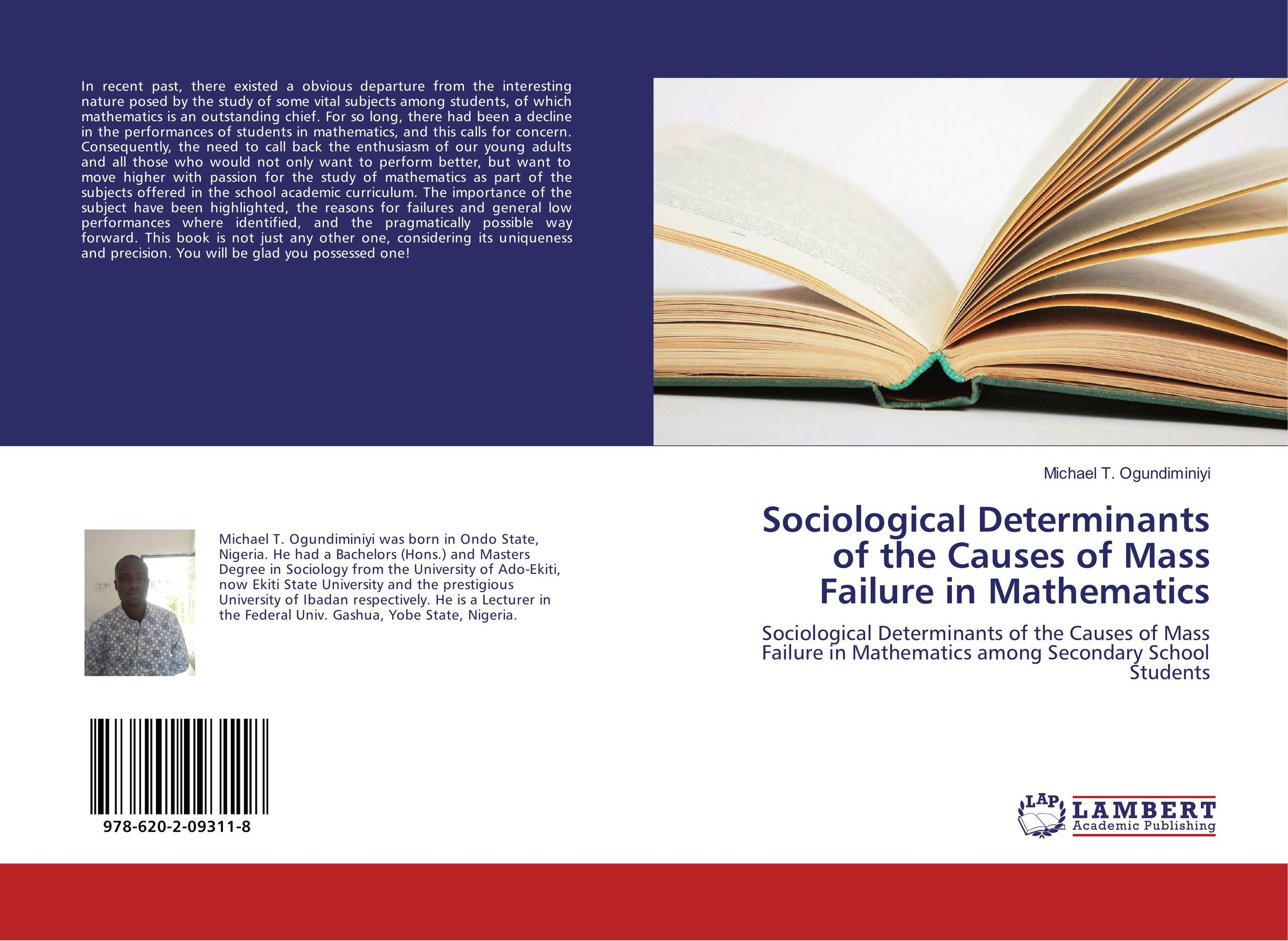 thesis on academic performance in mathematics Gathering about different factors relating to academic performance of students chi-square test of association and regressions was applied to investigate the effect of different factors on students' achievement.