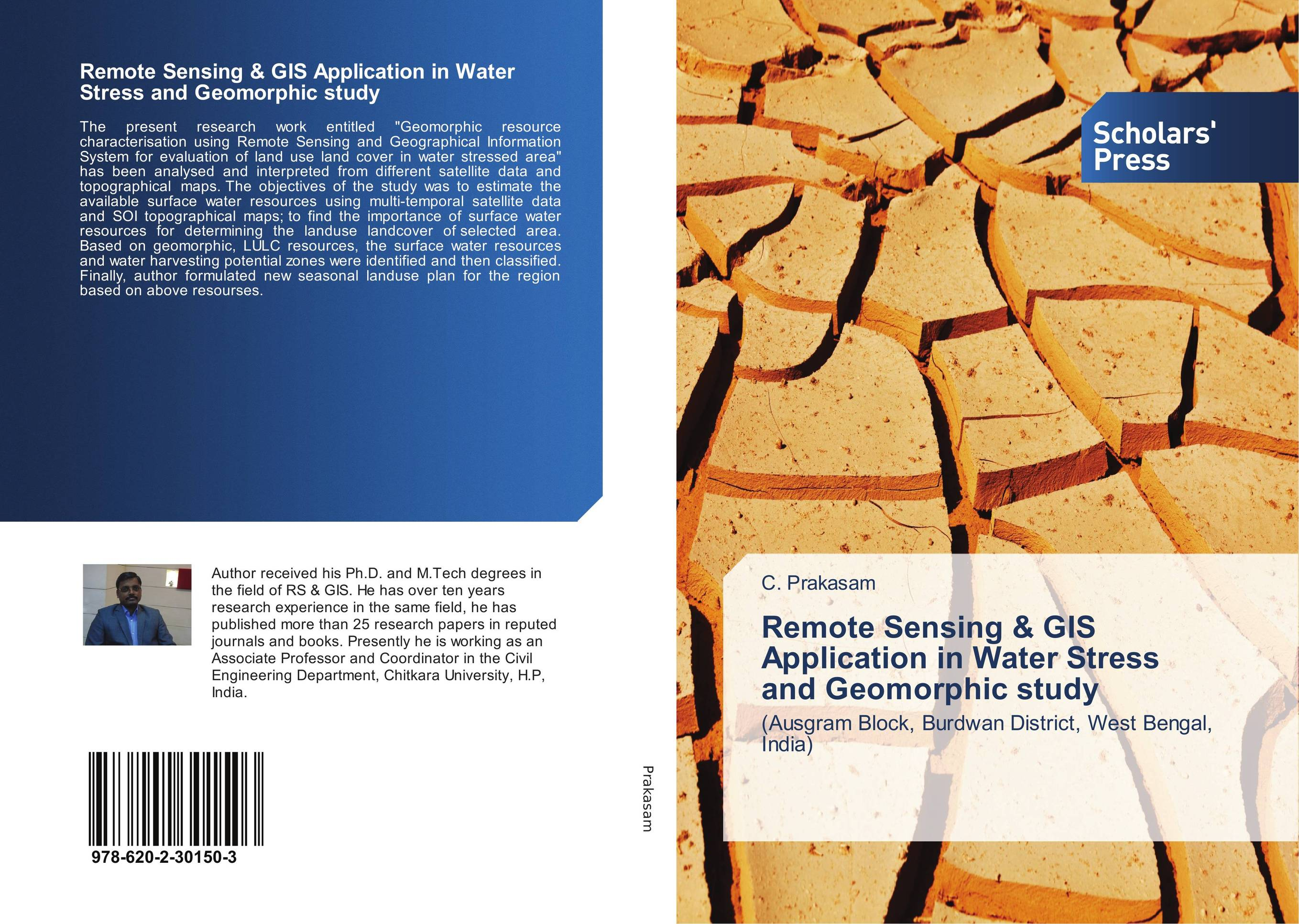 9786202301503 Remote Sensing & GIS Application in Water Stress amorphic study