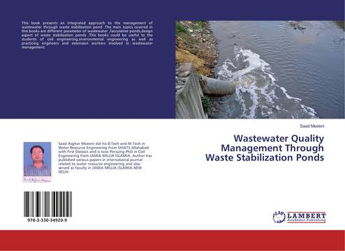 Wastewater quality management through waste stabilization for Design of waste stabilization pond systems
