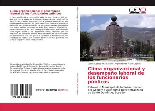 Clima Organizacional Y Desempeño Laboral De Los Funcionarios